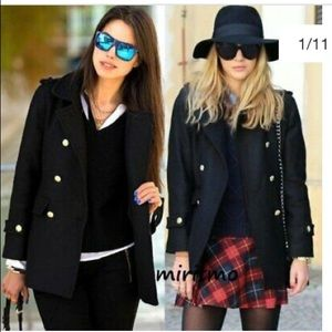 ZARA COAT WOOL JACKET S